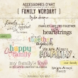 Family | Wordarts