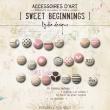 Sweet Beginning | Buttons