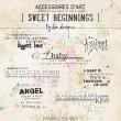 Sweet Beginning | Wordarts